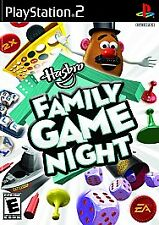 Hasbro Family Game Night PlayStation 2 PS2 Complete Tested