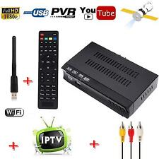 DVB-S2 Digital Satellite Receiver + Wifi IPTV List Combo Support HD Key Decoder