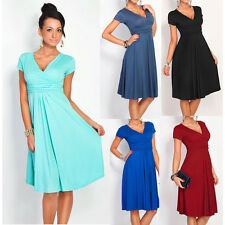 New Women's Pleated Short Sleeveless Party Dress Evening Cocktail Casual Dress