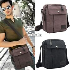 New Men's Vintage Canvas Shoulder Messenger Travel Hiking Bag Satchel Bags ONFU