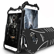 Batman Shockproof Aluminum Metal Case Cover For iPhone Samsung Galaxy Phones 6 7