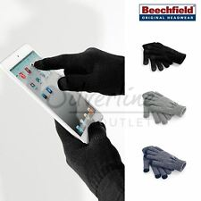 Beechfield Unisex-Winters Touchscreen Compatible Tablet/Smart Phone Gloves