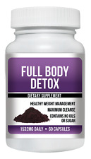 Acai Berry Full Body Detox Maximun Cleanse 60ct Weight Loss Diet Health Skinny