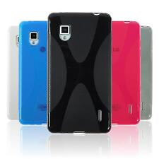 Case for LG Optimus G TPU Cover X-Style + protective foils