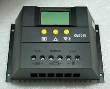Solar Charge Controller 30A/50A/60A LCD Display 48V Battery Charger Regulator