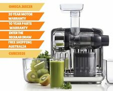 New Omega Juice Cube CUBE302S Cold Press Juicer | Juice Extractor | Slow Juicer