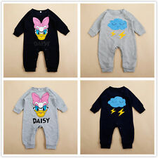 Cute Infant Baby Girl Cartoon Romper Jumpsuit Newborn Clothes Outfit One-piece
