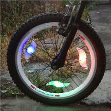 Hot Bike Bicycle Cycling Spoke Wire Tire Tyre Wheel LED Bright Light Lamp 3 Mode