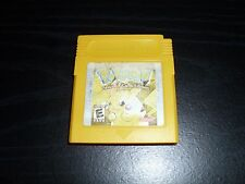 Pokemon: Yellow Version - Special Pikachu Edition (Game Boy, 1999) Works Saves