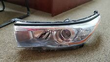 2014 2015 2016 Toyota Highlander Headlight Assembly