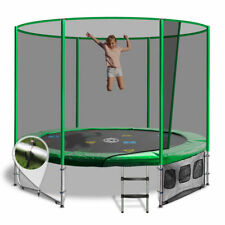 8ft Round Summit Trampoline - Green - Free Delivery