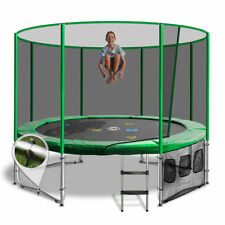 12ft Round Summit Trampoline - Green- Free Delivery