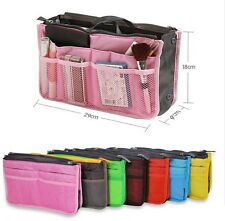 Handbag Pouch Bag  Organiser Insert Organizer Makeup Tidy Travel Cosmetic Pocket