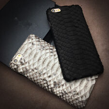 Genuine Leather Python Snake Skin Phone Case Cover For iPhone 6 6s / Plus 7