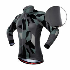 Hot Cycling Clothing Bicycle Sportwear Long Sleeve Cycling Jersey Top Size S-XXL
