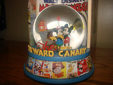 Walt Disney MICKEY Mouse SNOWGLOBE Musical Figure Classic Cartoons Posters *NEW*