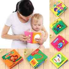 Educational Intelligence Development Soft Cloth Cognize Toy Kids Baby Book JS