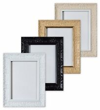 Wide Ornate Shabby Chic Antique Swept Poster, Picture Frame Photo Frame Muse