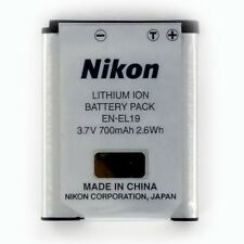 EN-EL19 Nikon Original Battery For Coolpix S2500 S2550 S3100 S3300 S4100 S4300