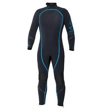 Bare 3mm Reactive Full Jumpsuit Wetsuit Mens Scuba Diving Dive Suit Black/Blue