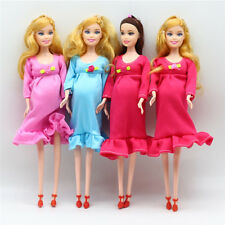 Pregnant Doll Suits Mom Doll Tummy Best Friend Play with Girls Educational Toy H