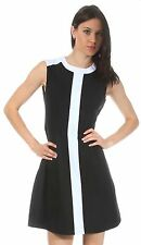 Nife bicolour Jersey dress Czarny S27R38C NOS Damen NEW