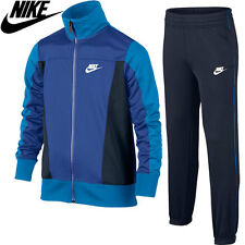 Boys Nike Tracksuit PAC POLY Age 6  to 12 years New Style Royal Blue and Navy