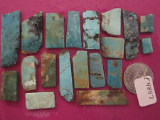 Turquoise Rough Old Silversmiths Stash! 28 grams USA-Bisbee? Royston? Kingman?