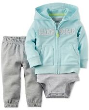 Carter's Baby Boys 3 piece Pant Outfit Set, NWOT