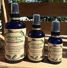 LEMONGRASS Aromatherapy Body Mist Room Spray - Organic Vegan Biodegradable
