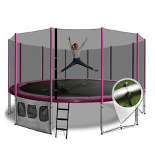 16ft Round Summit Trampoline - Pink - Free Delivery