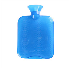 250-1300ml Rubber Hot Water Bottle Bag Winter Warm Relaxing Heat Cold Therapy