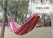 2 Person Hammock  Fabric Air Hanging Swinging Seat Chair Yard Outdoor Camping