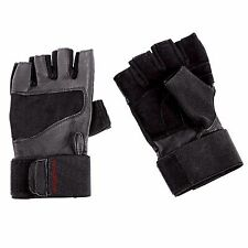 Weider Pro L/XL Home Fitness Wrist Wrap Gym Exercise Workout Hand Support Gloves