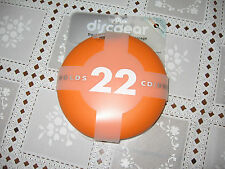 BRAND NEW DISCGEAR DISCUS 22 Orange, CD/DVD CASE