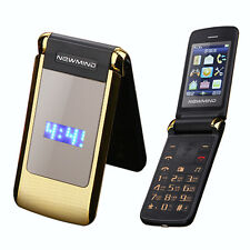 Newmind Flip Dual Screen Cellphone Vibrate Senior Mobile Phone Dual SIM MP3 MP4