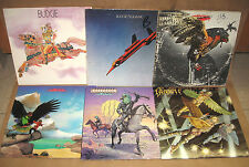 BUDGIE RECORDS*BUDGIE-SQUAWK-IN FOR THE KILL-NEVER TURN YOUR BACK-BANDOLIER-LOOK