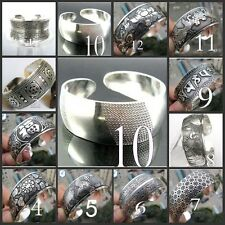 Hot  New Tibetan Tibet silver Totem Bangle Cuff Bracelet 12 style