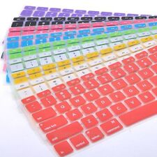 Silicone Keyboard Cover Protector Skin for Apple Macbook Pro MAC 13 15 , Air 13