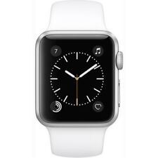 Apple Watch Series 1, MNNG2 38mm Silver Aluminum Case (with Sport Band)