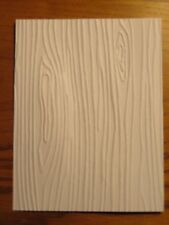 Embossed Card Fronts:  Woodgrain Choose Color Handmade Card Stampin Up!