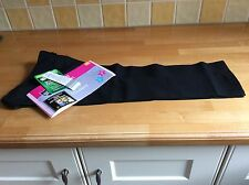 GIRLS BLACK SCHOOL TROUSERS AGE 4-5,YEARS BNWT