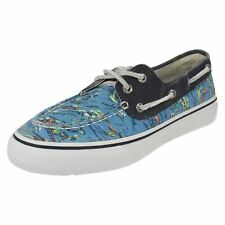 Mens BAHAMA 2 EYE Hawaii Blue Lace Up Deck Shoes By Sperry Top-Sider £35.00