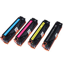 2x Any Toner Cartridge For CB540A CB541A CB542A CB543A HP LaserJet CP1215 CP1515