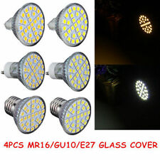 4PCS MR16/GU10/E27 48 60SMD 3528 LED Light Warm/Cool White Lamp Bulb Home 110V@V