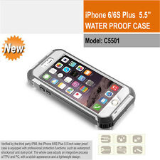 New iPhone 6/6s Plus Waterproof Case Full Body Protection Cover shock/dirt proof