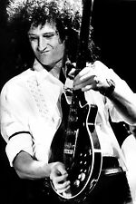 BRIAN MAY QUEEN POSTER 3 - VARIOUS SIZES + A FREE SURPRISE A3 POSTER