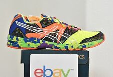 New Mens Asics Gel-Noosa Tri 8 FLASH YELLOW Size 11 orange multicolor stability
