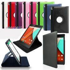 360 Rotating Magnetic PU Leather Smart Folio Stand Cover Case For Google Nexus 9