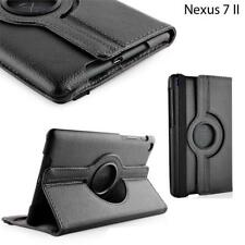 Rotate 360° Smart PU Leather Stand Case Cover For Asus Google Nexus 7 II 2nd